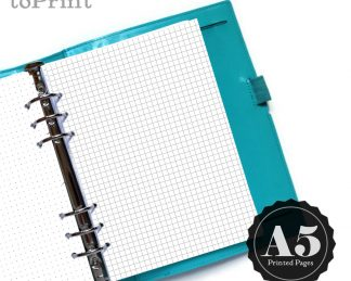 Printed Planners