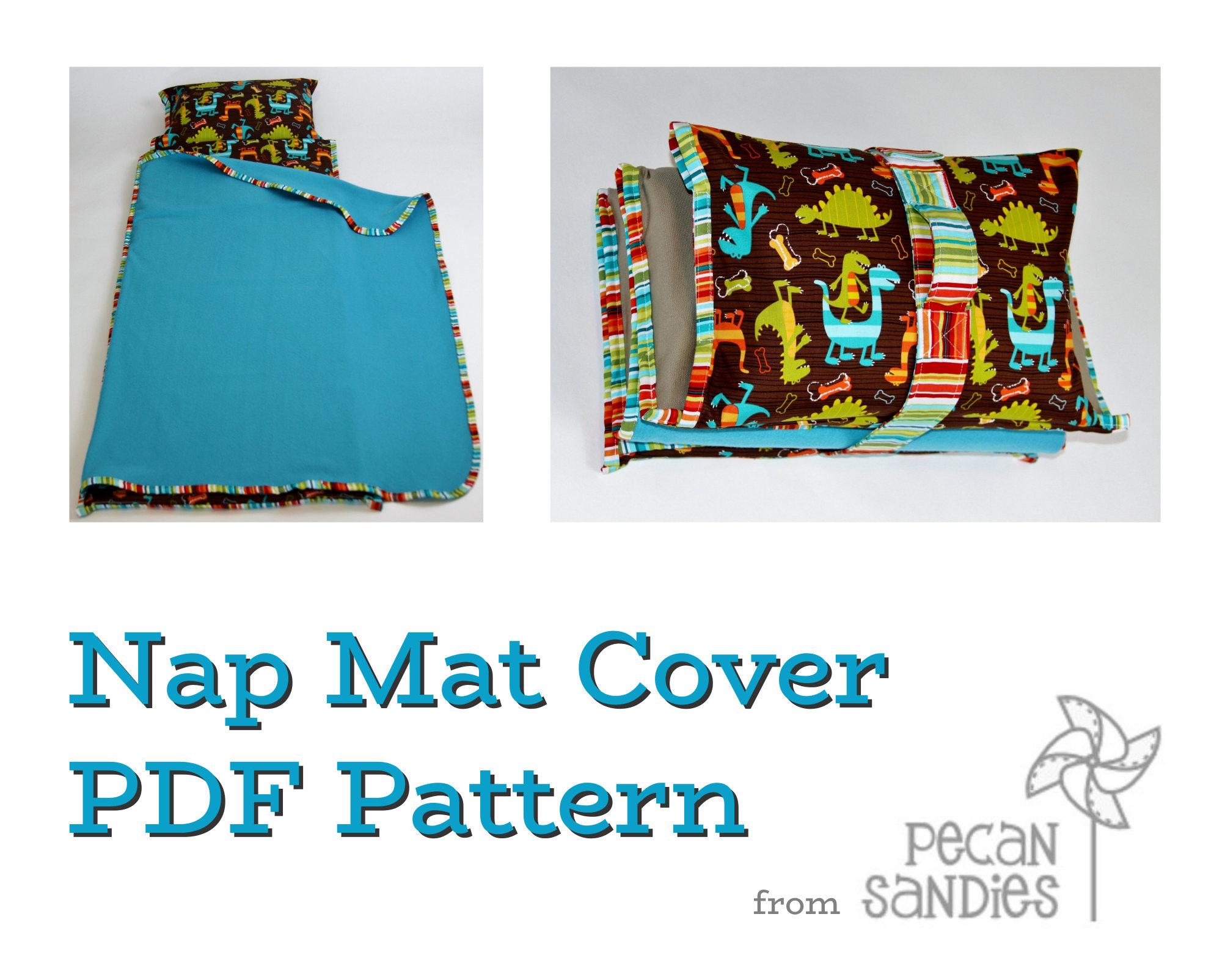 Nap Mat Cover Pdf Sewing Pattern Pecan Sandies