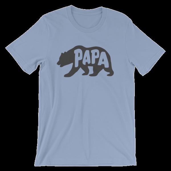 Papa Bear Tee Shirt Pecan Sandies