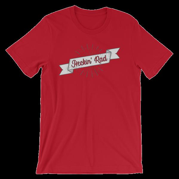 Heckin Rad Tee Shirt Pecan Sandies